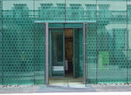 Überdachung Glas